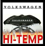 VOLKSWAGEN RETRO HIGH TEMPERATURE BRAKE CALIPER DECAL SET
